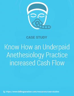 Anesthesiology practice case study