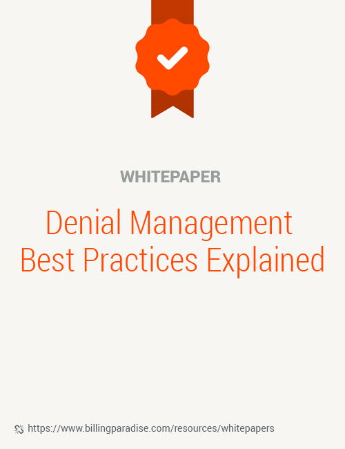 Denial management whitepaper