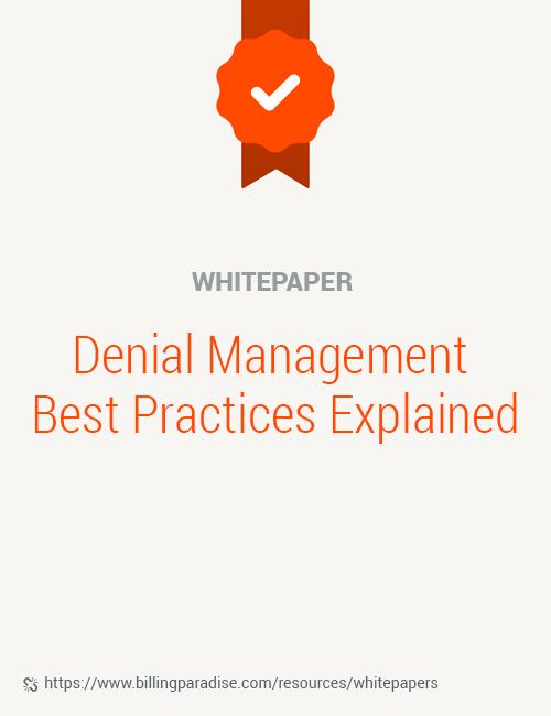 Denial management whitepaper