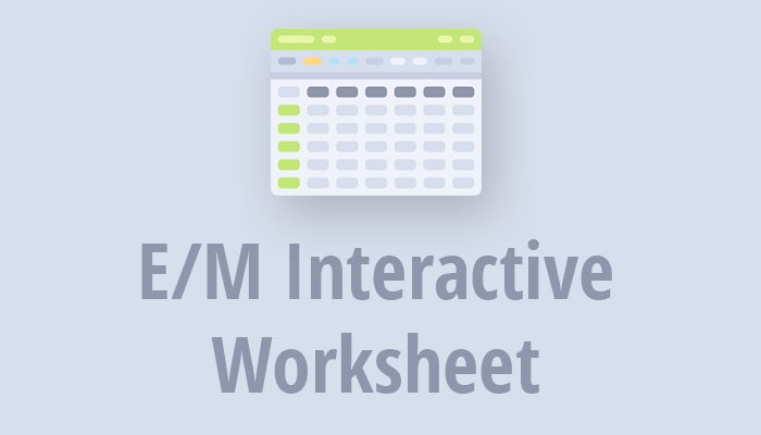 Em Interactive WorkSheet