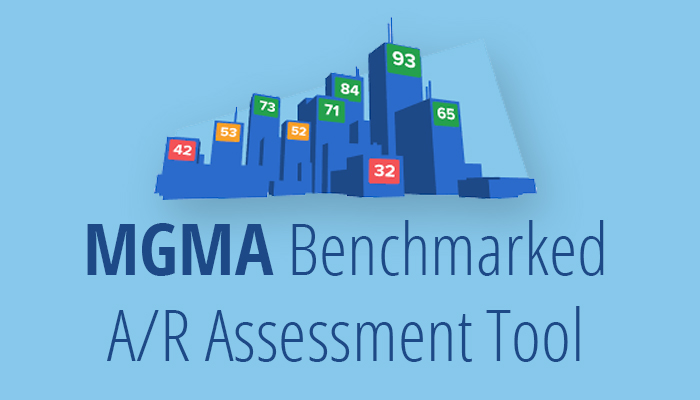 MGMA benchmarked ar assessment tool