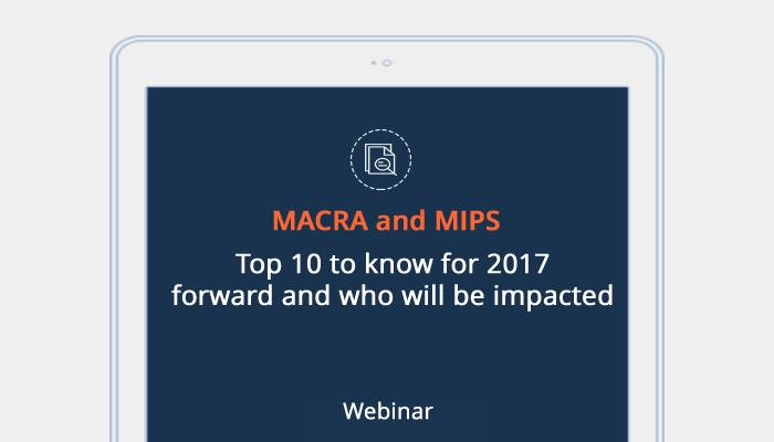 MACRA MIPS Impacts Webinar