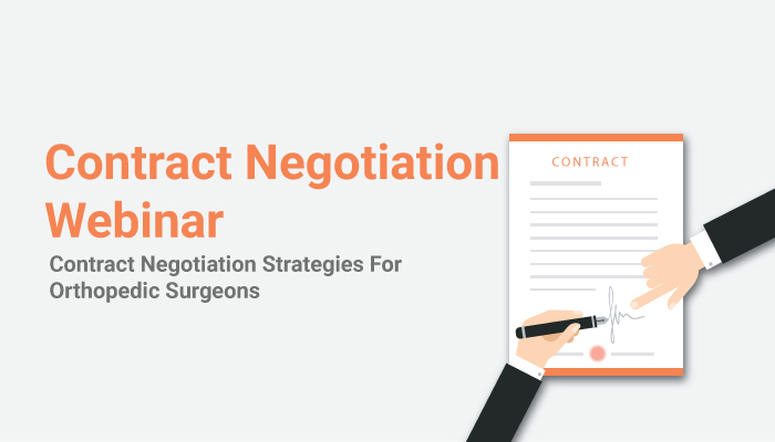 Orthopedic Surgeons Contract Negotiation